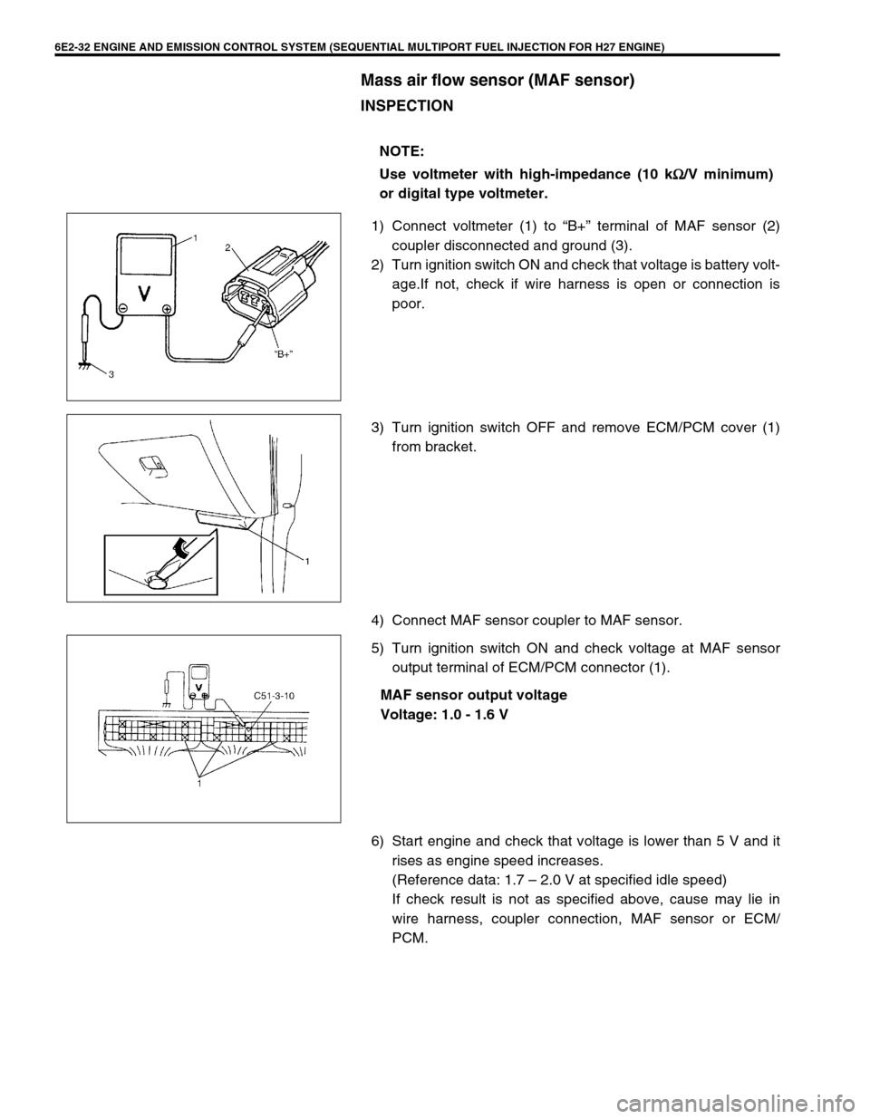 Suzuki Grand Vitara 2001 2g Owners Manual Wiring Harness Page 365