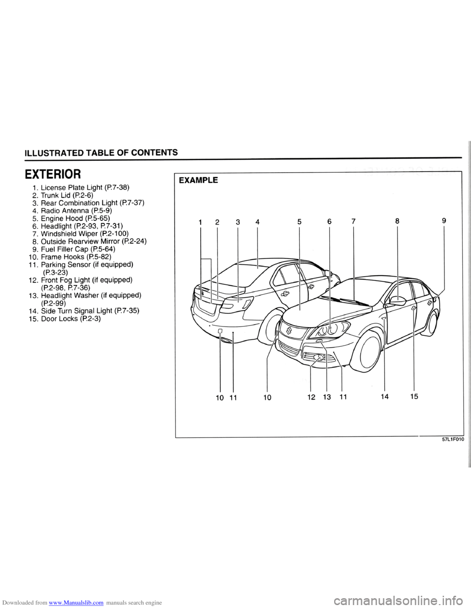2004 suzuki vitara owners manual