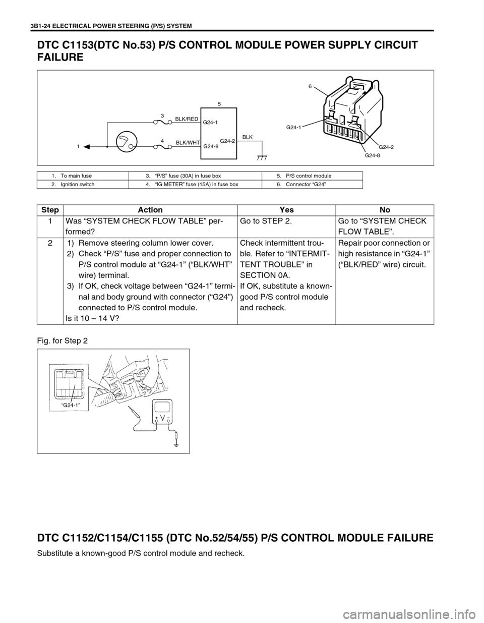 suzuki swift 2000 1 g rg413 service workshop manual, page 165