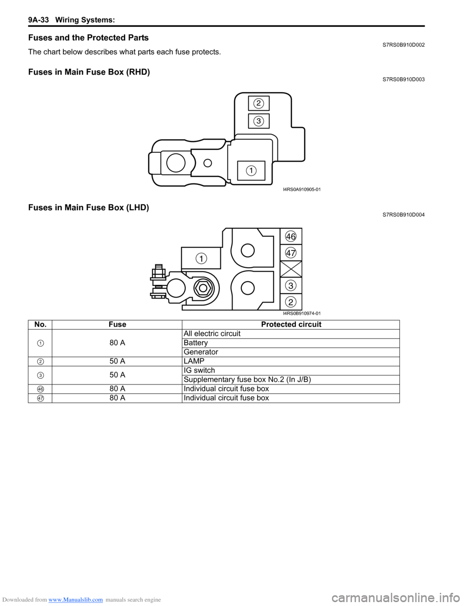SUZUKI SWIFT 2005 2.G Service Workshop Manual, Page 1204