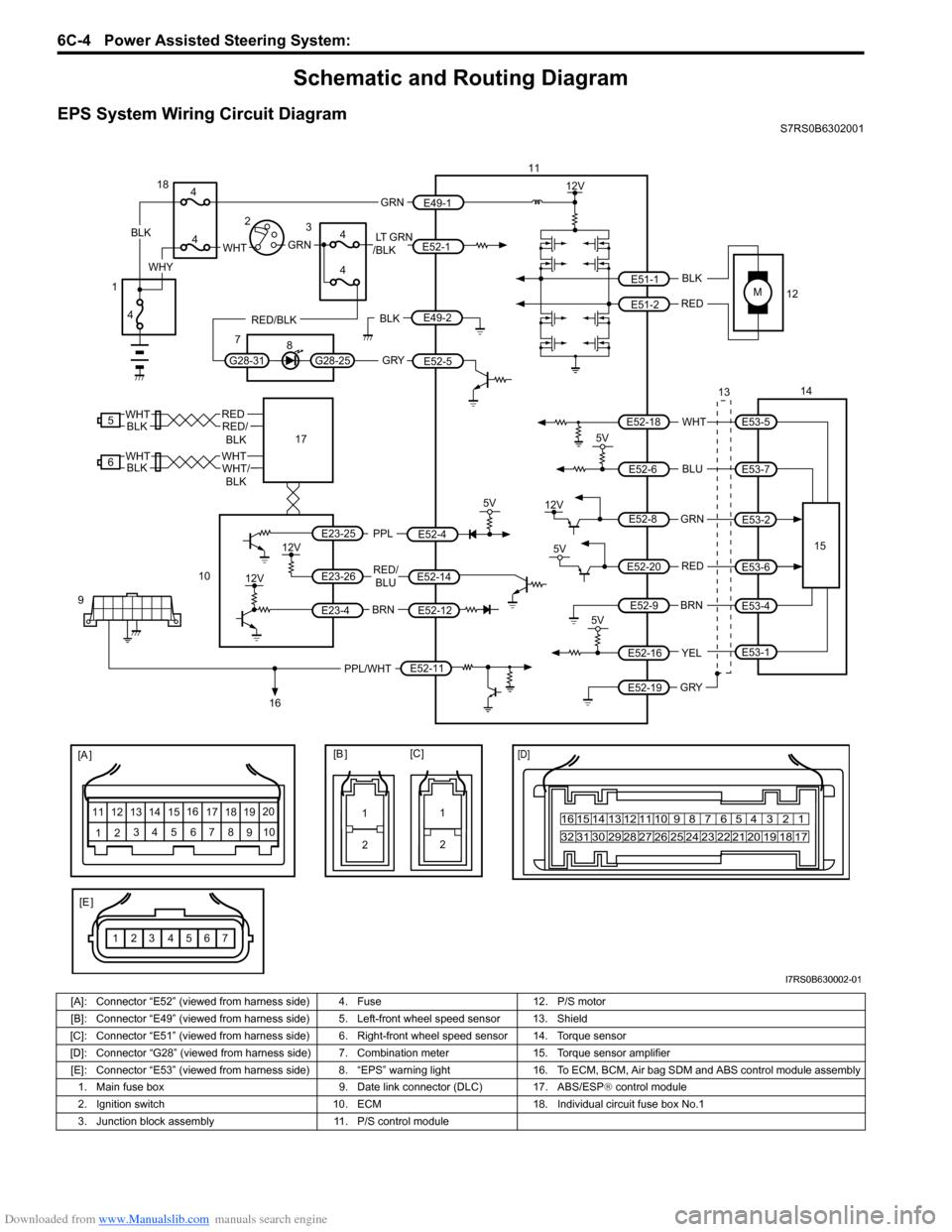 Wunderbar Suzuki Forenza S Schaltplan Bilder - Elektrische ...