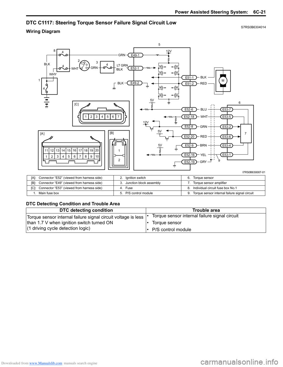 Suzuki Swift 2005 2g Service Workshop Manual Torque 8 Wire Diagram G Page 903