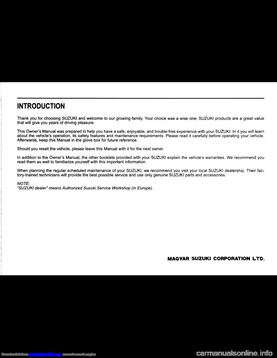 suzuki swift 2005 2.g owners manual