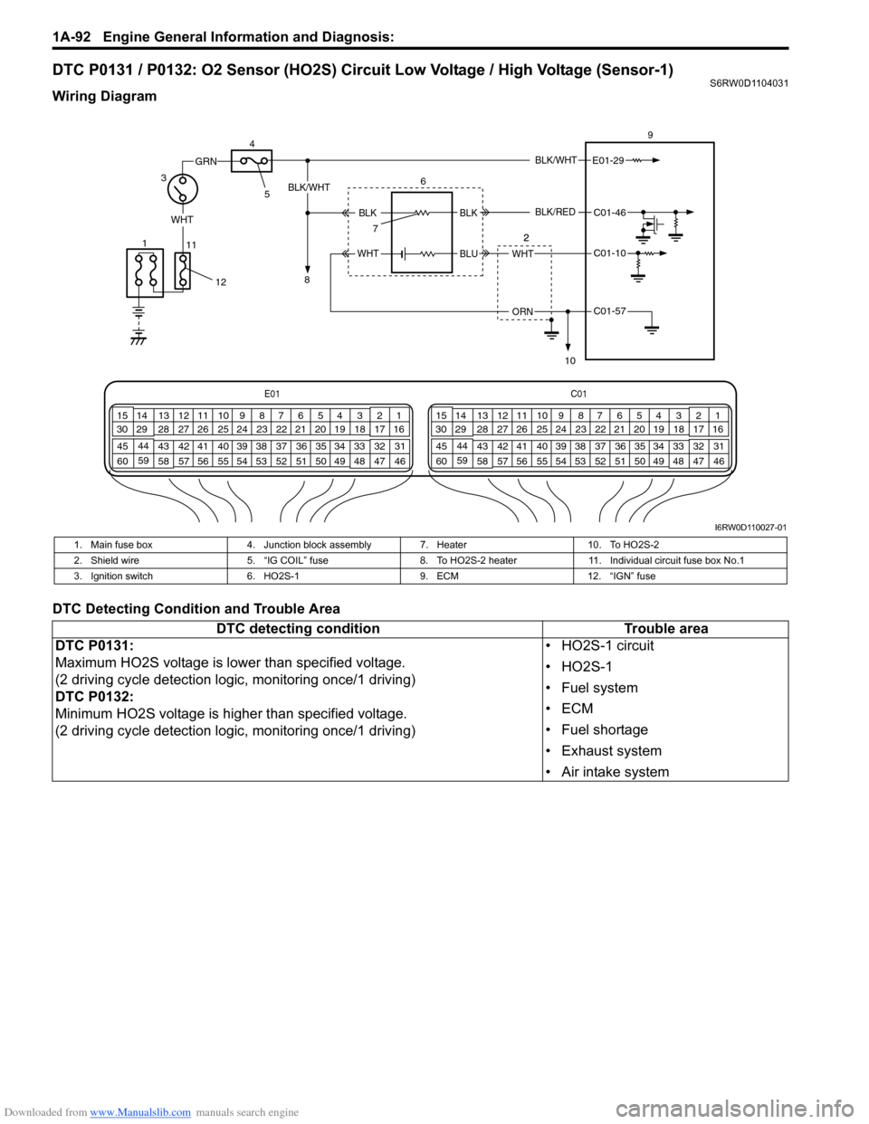 Wrg 7792 Suzuki Sx4 Fuse Box Diagram General Switch 60 2006 1g Service Workshop Manual