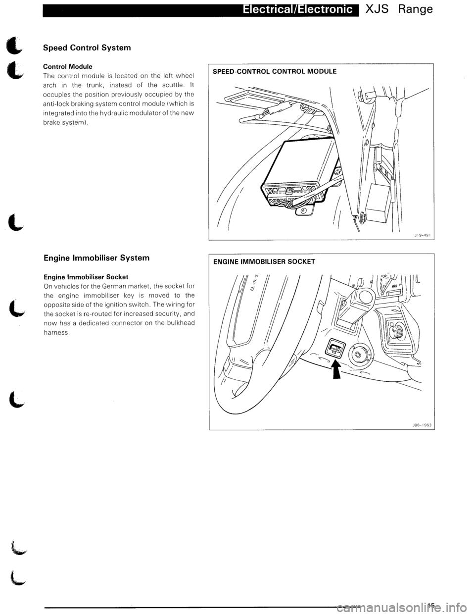Jaguar Xjs 1995 2g Update Manual Xj6 Wiring Harness