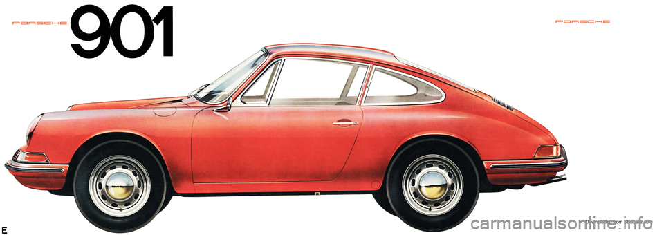 PORSCHE 911 1963 901 Information Manual, Page 1