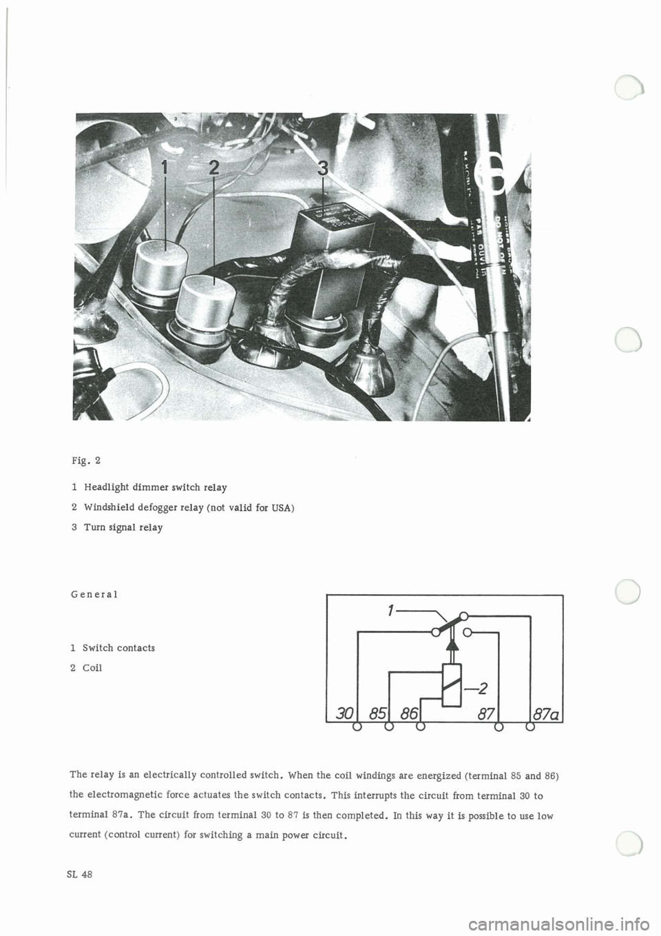 PORSCHE 911 1966 1.G Electrical Diagrams Workshop Manual, Page 7