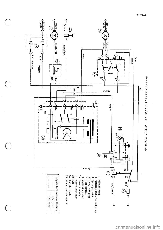 Porsche 911 1967 1g Technical Instruction Workshop Manual 964 Fuse Box Page 50
