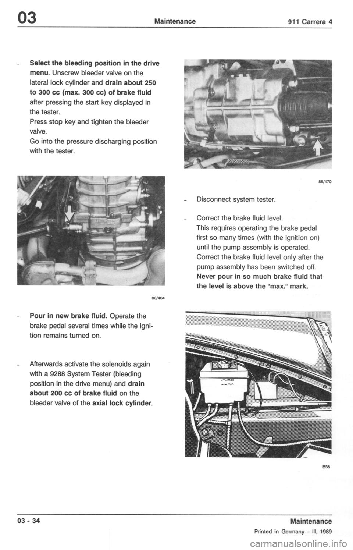 Porsche 964 1990 2 G Service Repair Manual  254 Pages