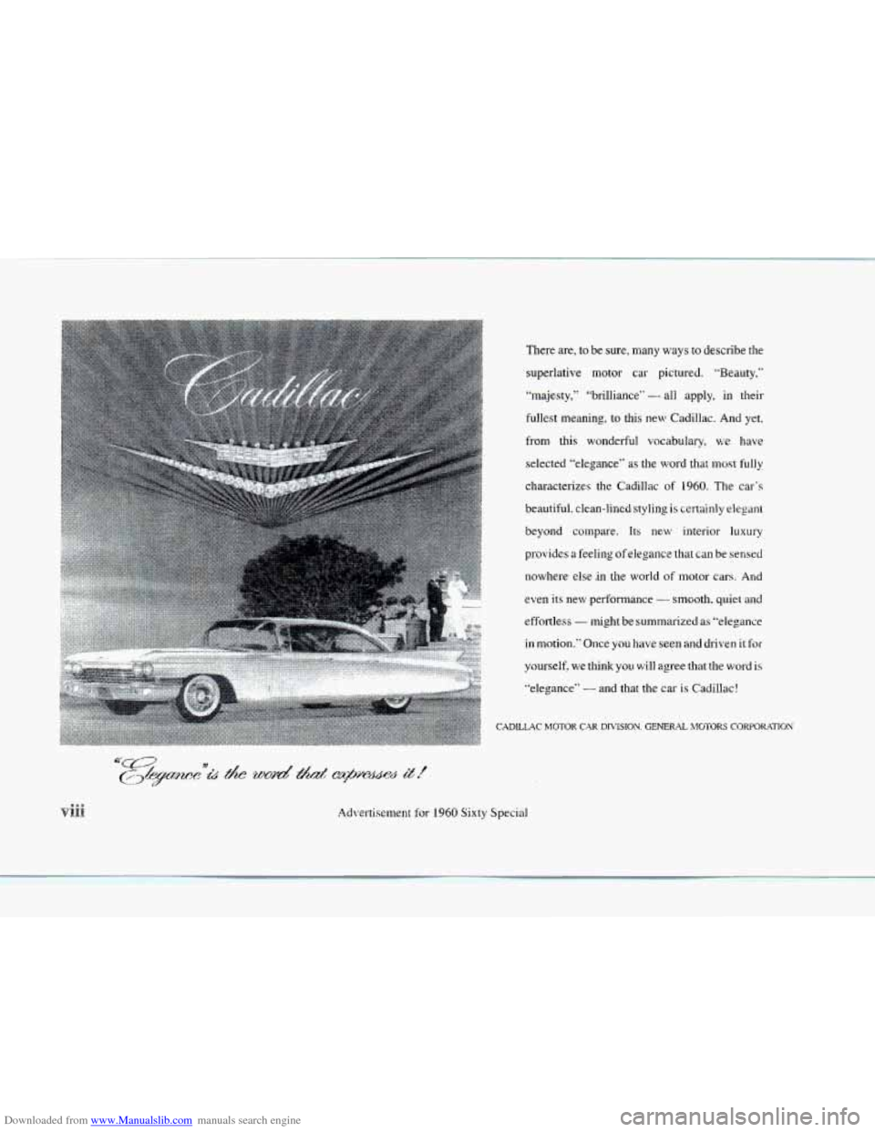 CADILLAC SEVILLE 1997 4.G Owners Manual, Page 9