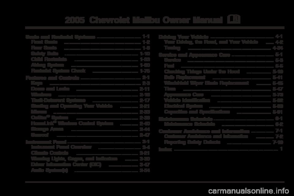 2008 chevy malibu owners manual