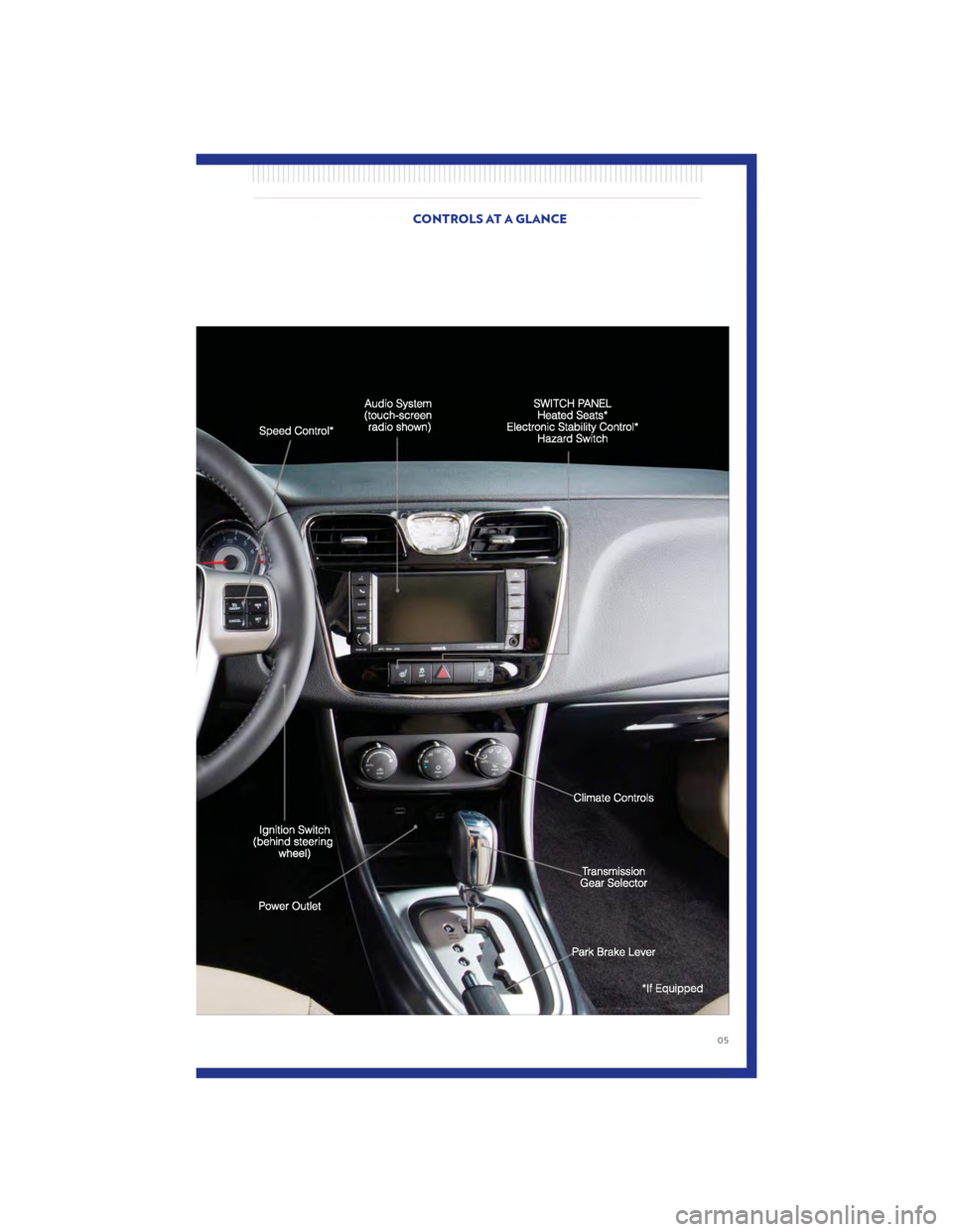 CHRYSLER 200 2011 1.G User Guide, Page 7