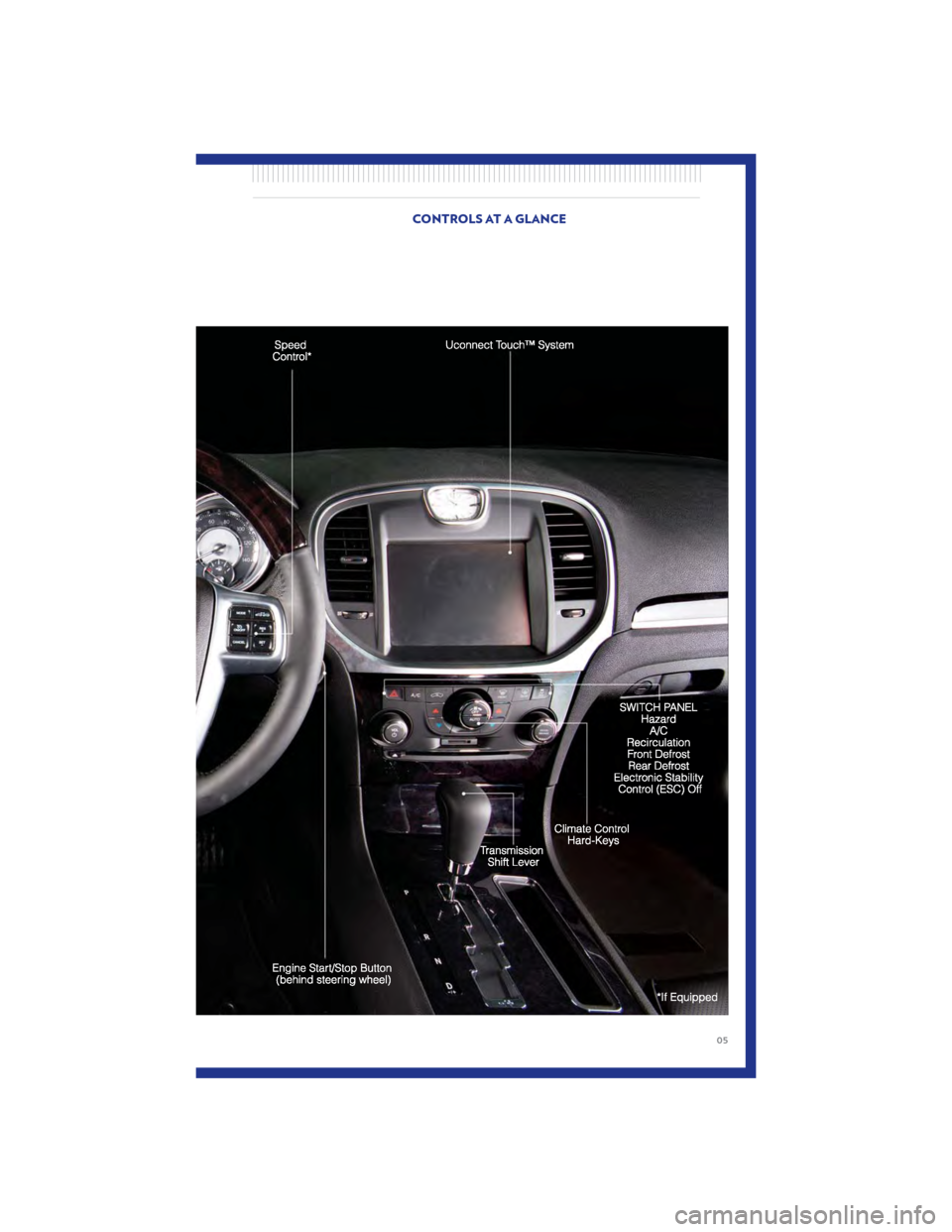 CHRYSLER 300 2011 2.G User Guide, Page 7