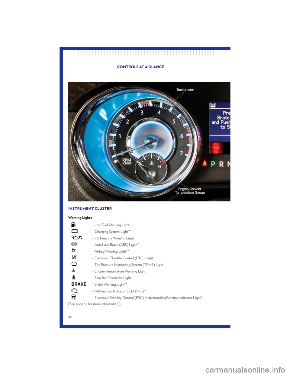 CHRYSLER 300 2011 2.G User Guide, Page 8