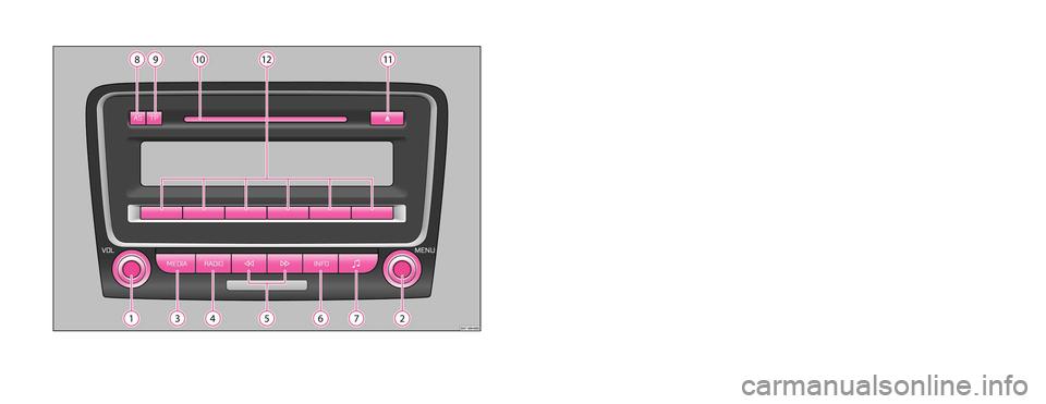 skoda octavia 2010 2 g 1z swing car radio manual. Black Bedroom Furniture Sets. Home Design Ideas