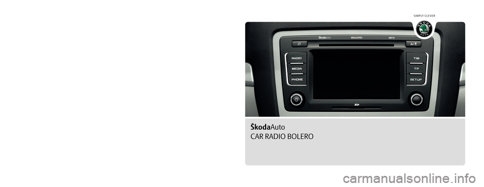 skoda octavia 2010 2 g 1z bolero car radio manual. Black Bedroom Furniture Sets. Home Design Ideas