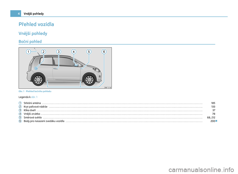 SKODA CITIGO 2011 1.G Owners Manual, Page 5