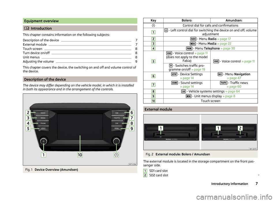 skoda rapid 2015 1 g amundsen bolero infotainment system. Black Bedroom Furniture Sets. Home Design Ideas
