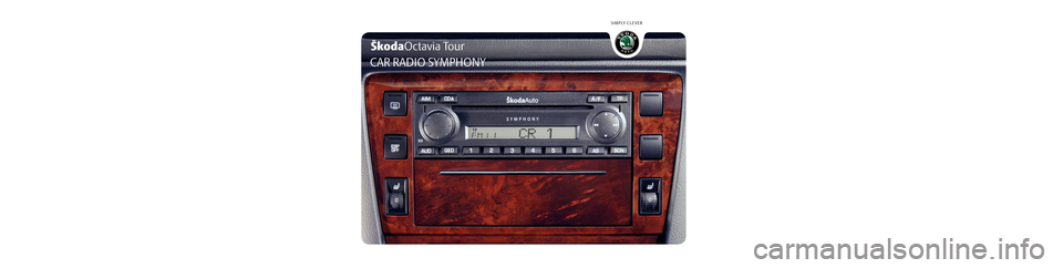 skoda octavia tour 2010 2 g 1z symphony car radio manual. Black Bedroom Furniture Sets. Home Design Ideas