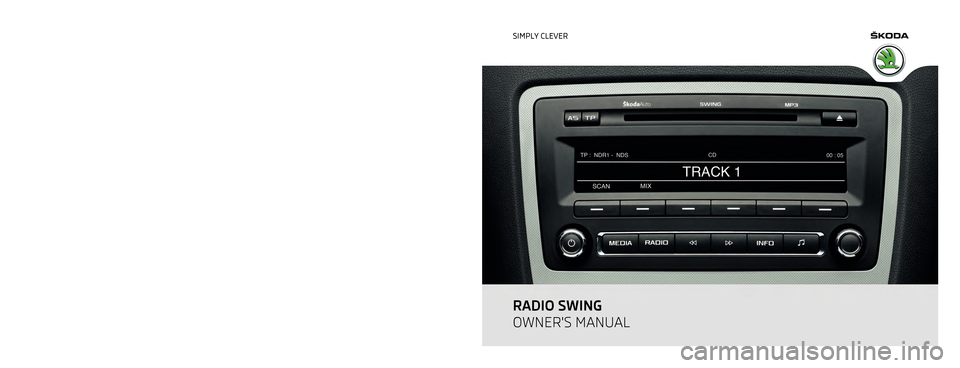 skoda octavia 2011 2 g 1z swing car radio manual. Black Bedroom Furniture Sets. Home Design Ideas