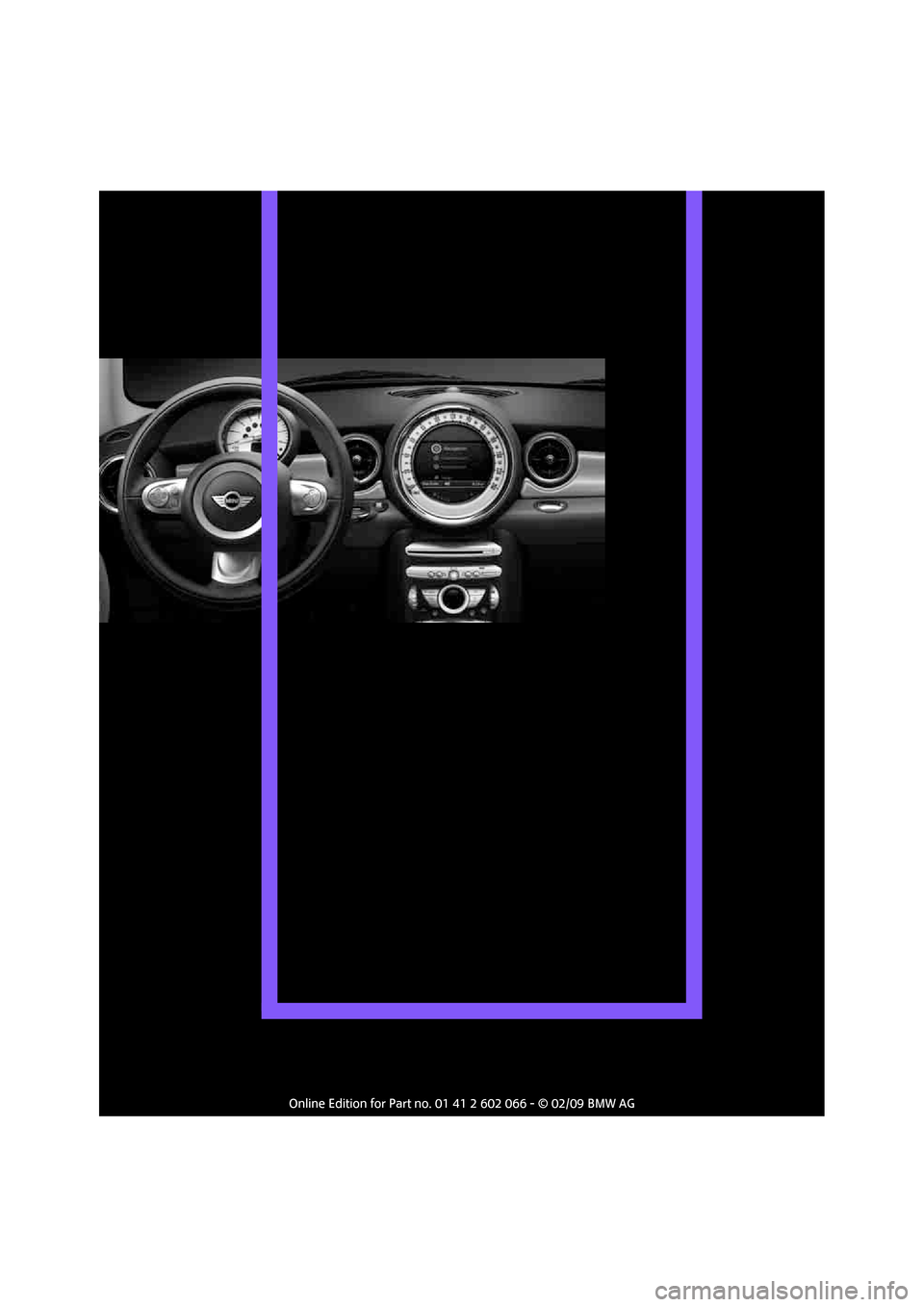 MINI Clubman 2009  Owners Manual (Mini Connected)