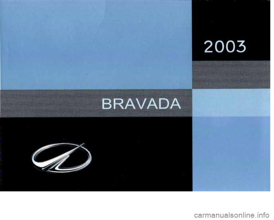 Oldsmobile Bravada 2003  Owners Manuals 0  0
