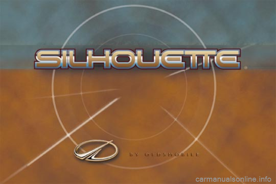 Oldsmobile Silhouette 2000  Owners Manuals