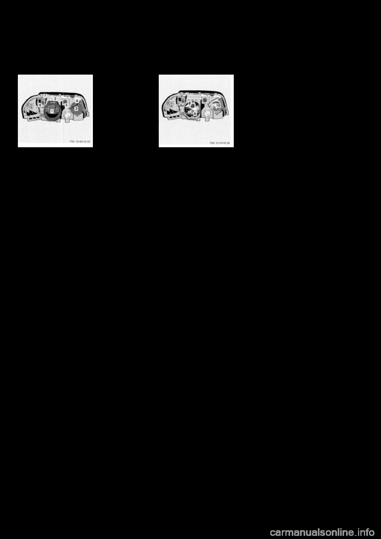 Headlamp mercedes benz c class 2000 w202 owner 39 s manual for Mercedes benz c class owners manual