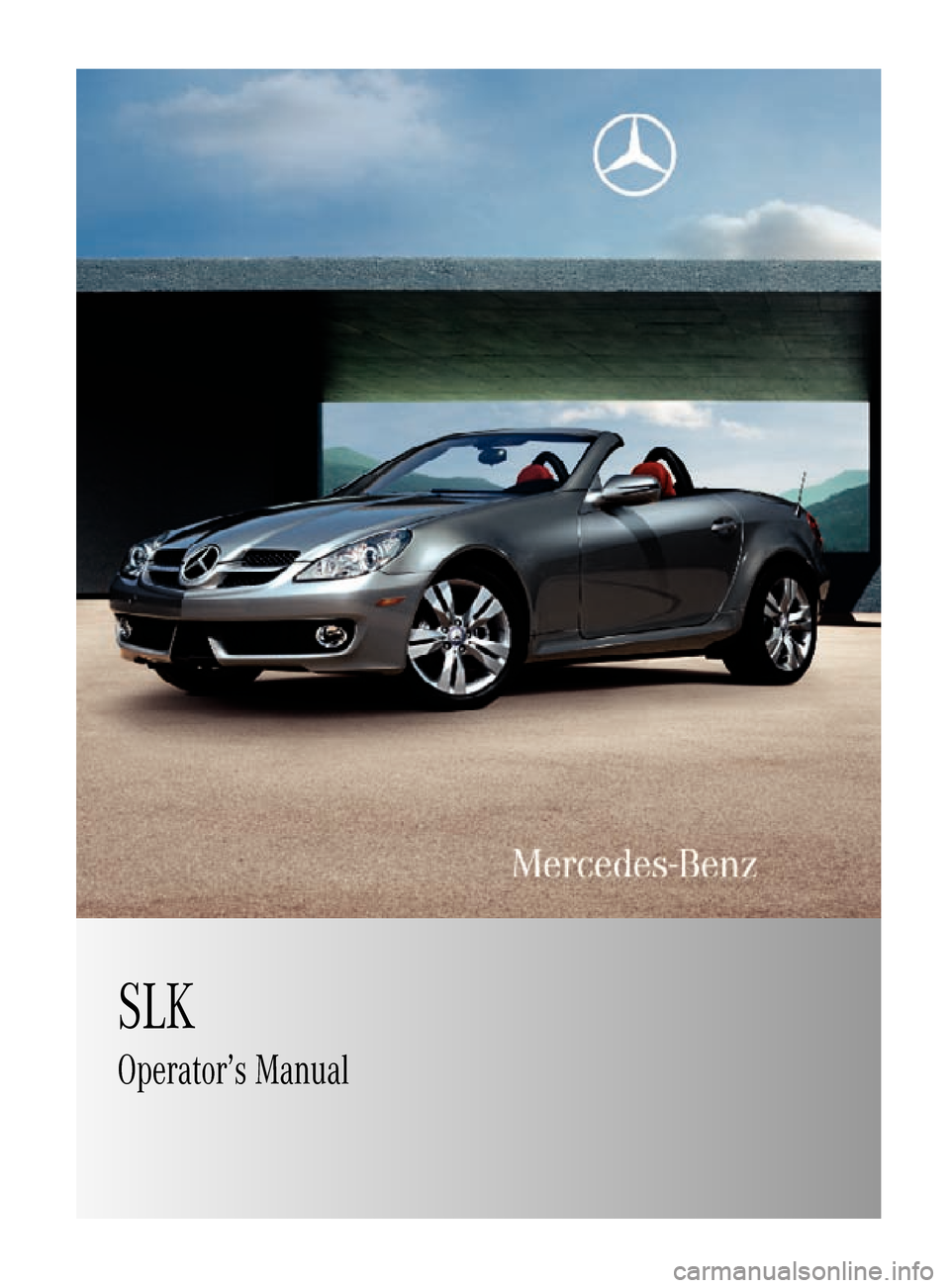 mercedes benz slk350 2010 r171 owner 39 s manual