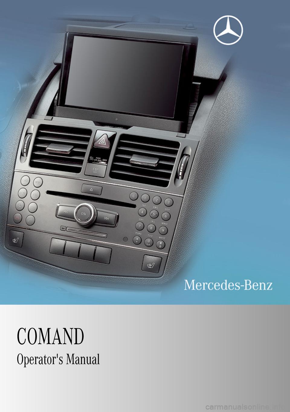 Manuals Comand 20 W163