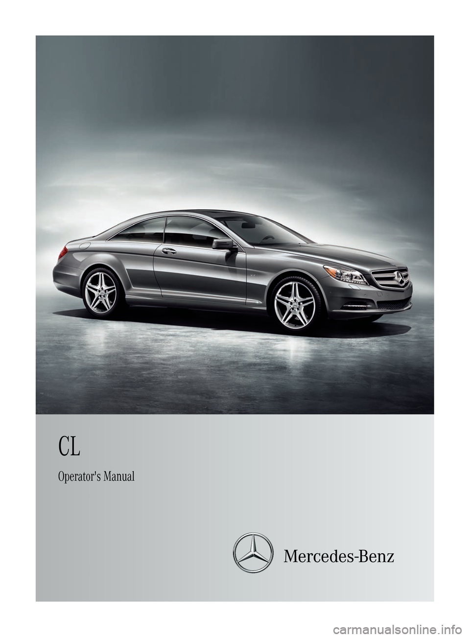 MERCEDES-BENZ CL-Class 2011 C216 Owners Manual, Page 1