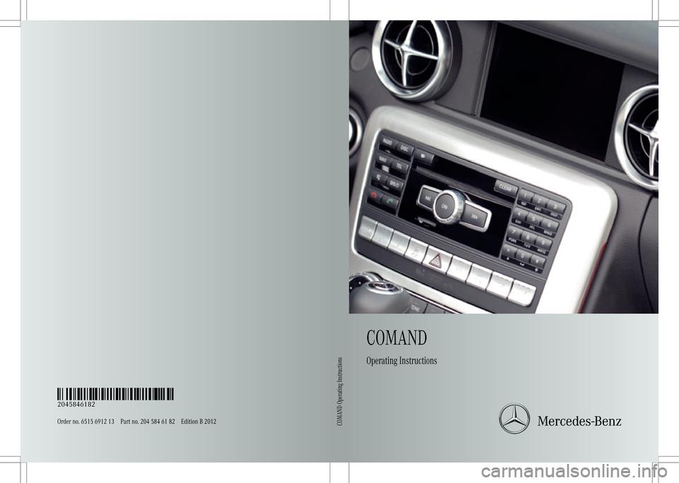 MERCEDES-BENZ C-Class 2012 W204