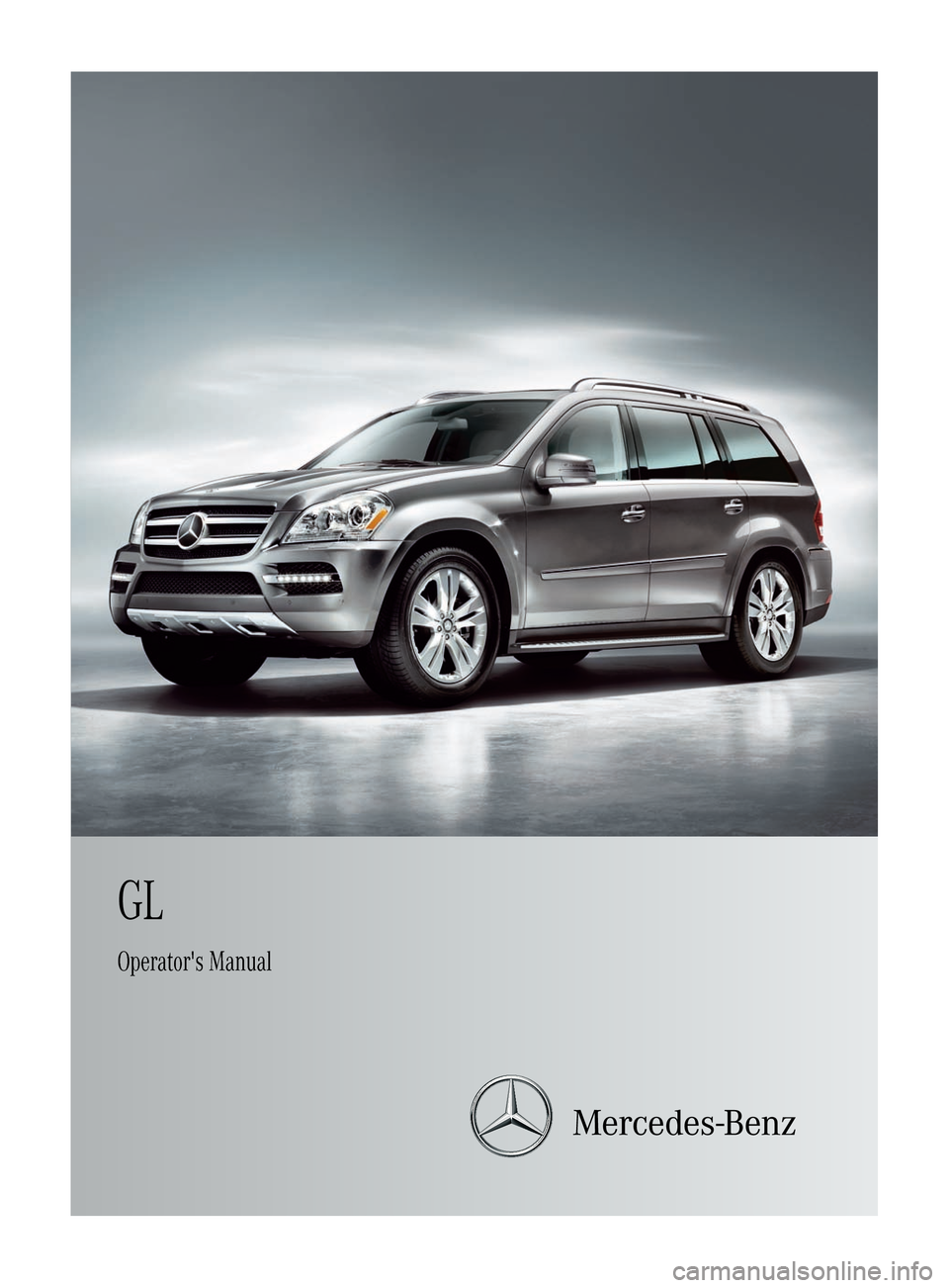 Mercedes benz gl class 2012 x164 owner 39 s manual for Mercedes benz online repair manual