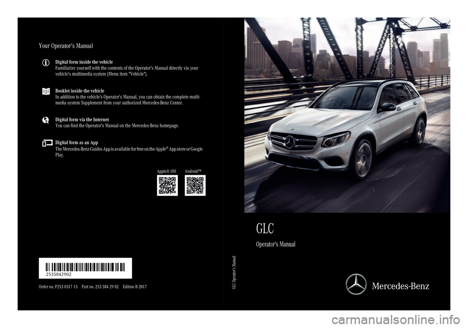 Mercedes benz glc suv 2017 x253 owners manual solutioingenieria Image collections
