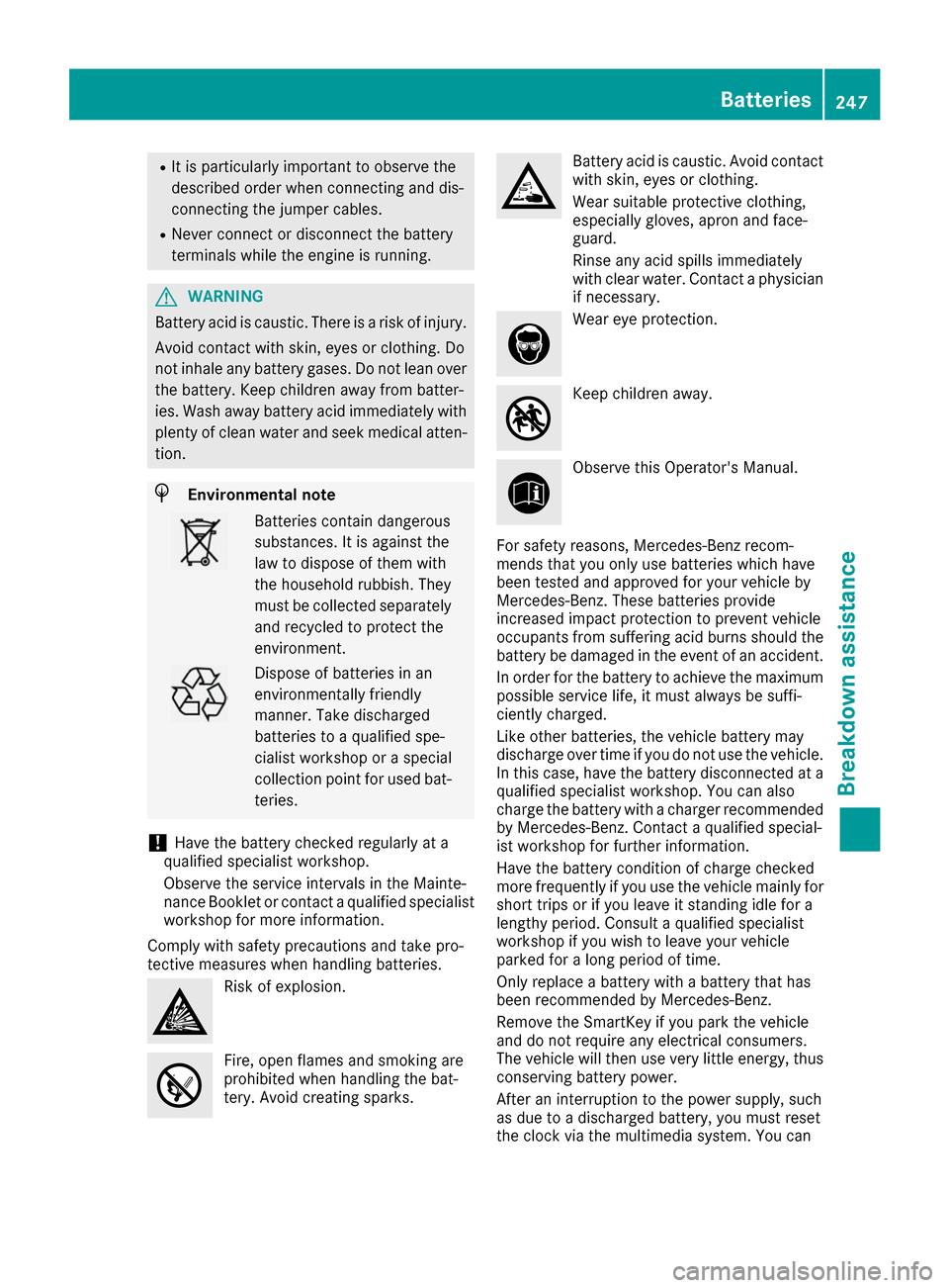 mercedes benz b class owners manual pdf