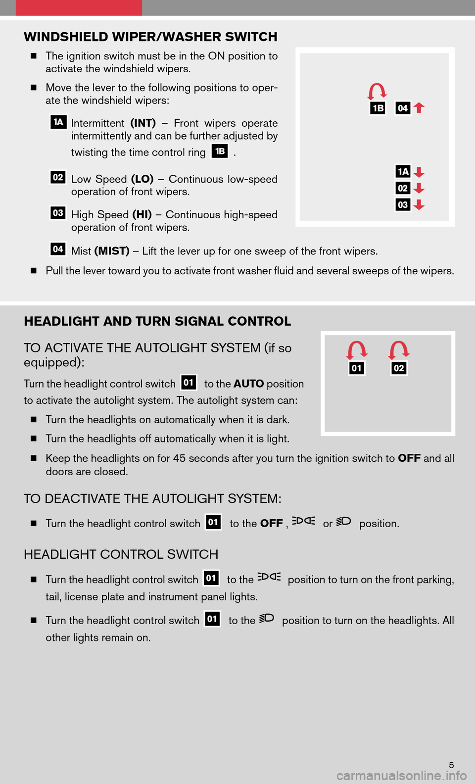 NISSAN ALTIMA HYBRID 2008 L32A / 4.G Quick Reference Guide, Page 7