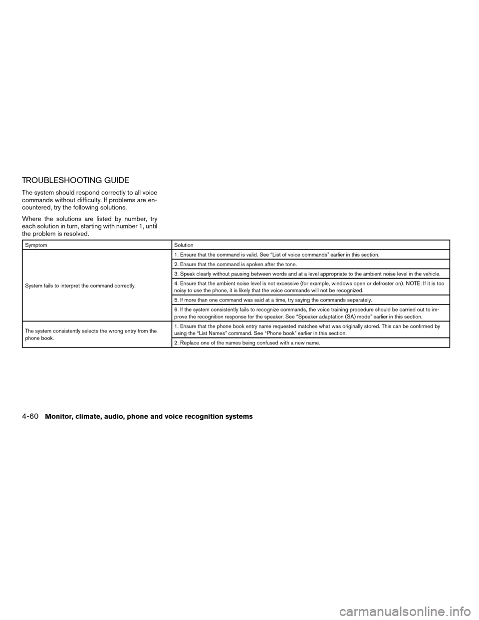 NISSAN ALTIMA COUPE 2009 D32 / 4.G Owners Manual, Page 224
