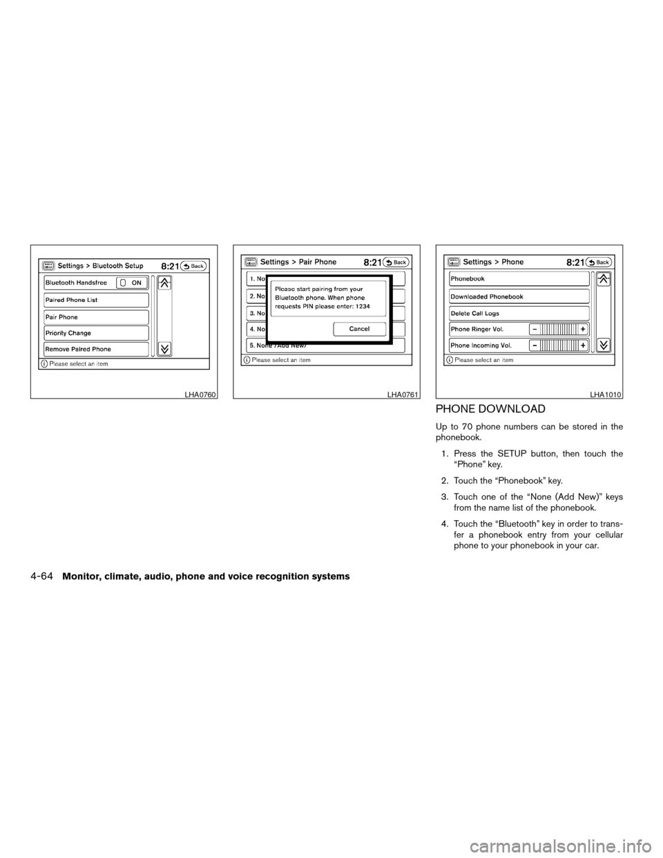 NISSAN ALTIMA COUPE 2009 D32 / 4.G Owners Manual, Page 228
