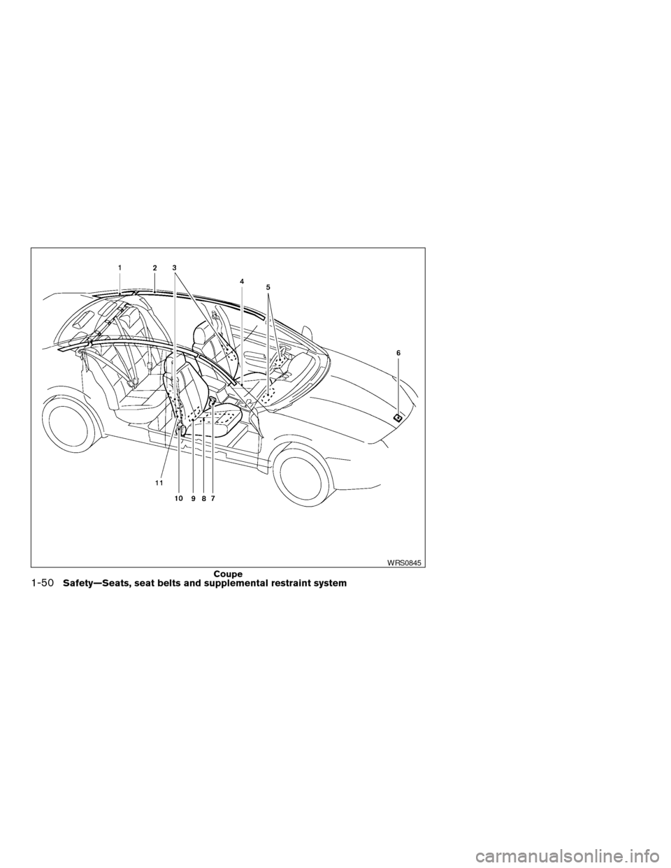 NISSAN ALTIMA COUPE 2009 D32 / 4.G Owners Manual, Page 68