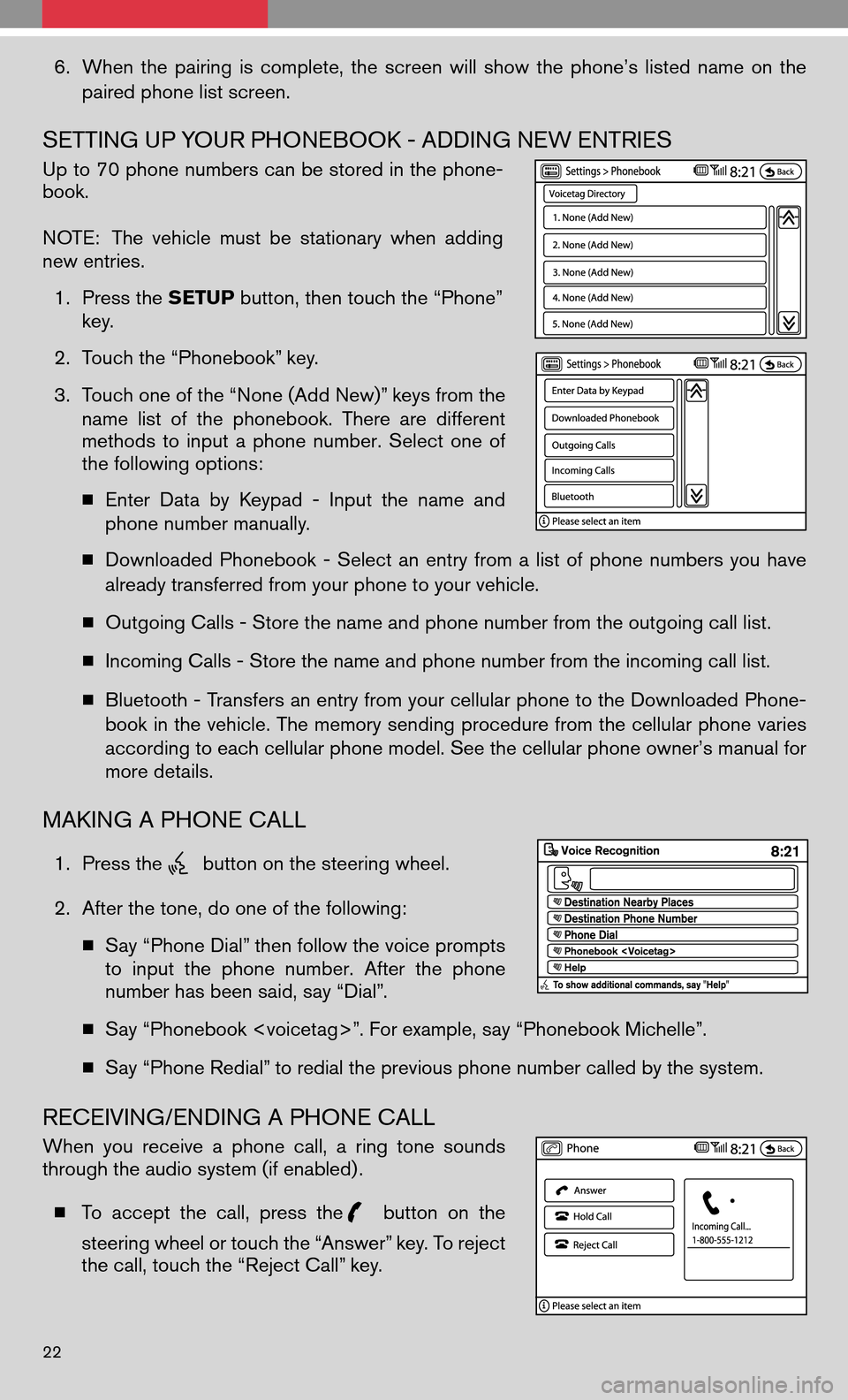 NISSAN ALTIMA COUPE 2009 D32 / 4.G Quick Reference Guide, Page 24