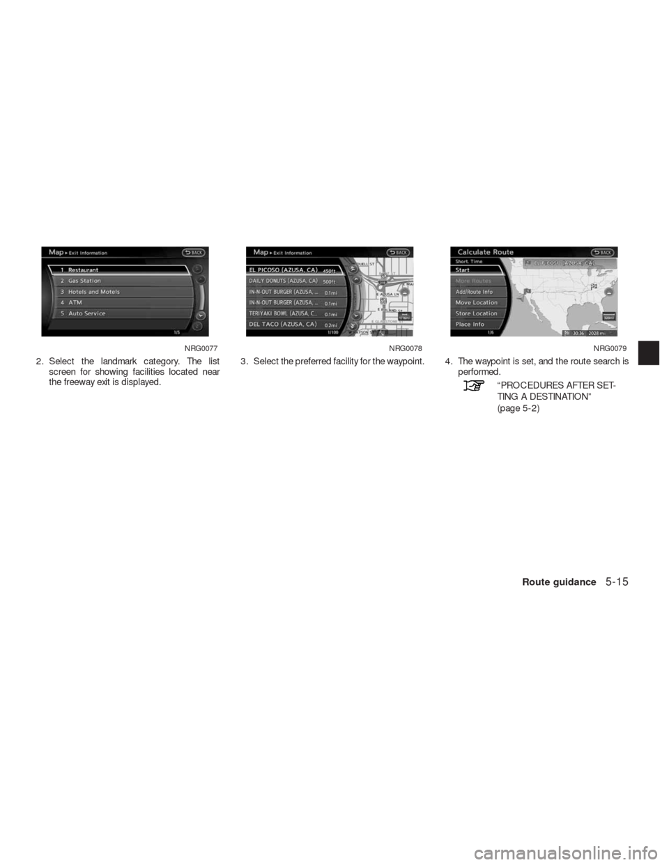 NISSAN ALTIMA HYBRID 2010 L32A / 4.G Navigation Manual, Page 120