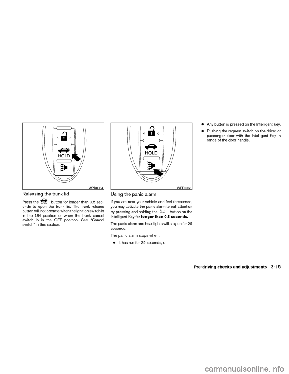 NISSAN ALTIMA HYBRID 2010 L32A / 4.G Owners Manual, Page 146