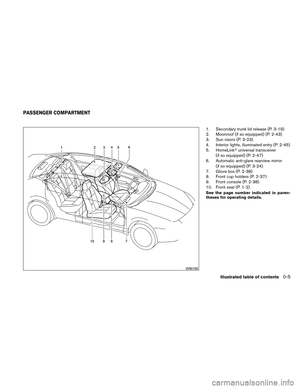 NISSAN ALTIMA HYBRID 2010 L32A / 4.G Owners Manual, Page 24