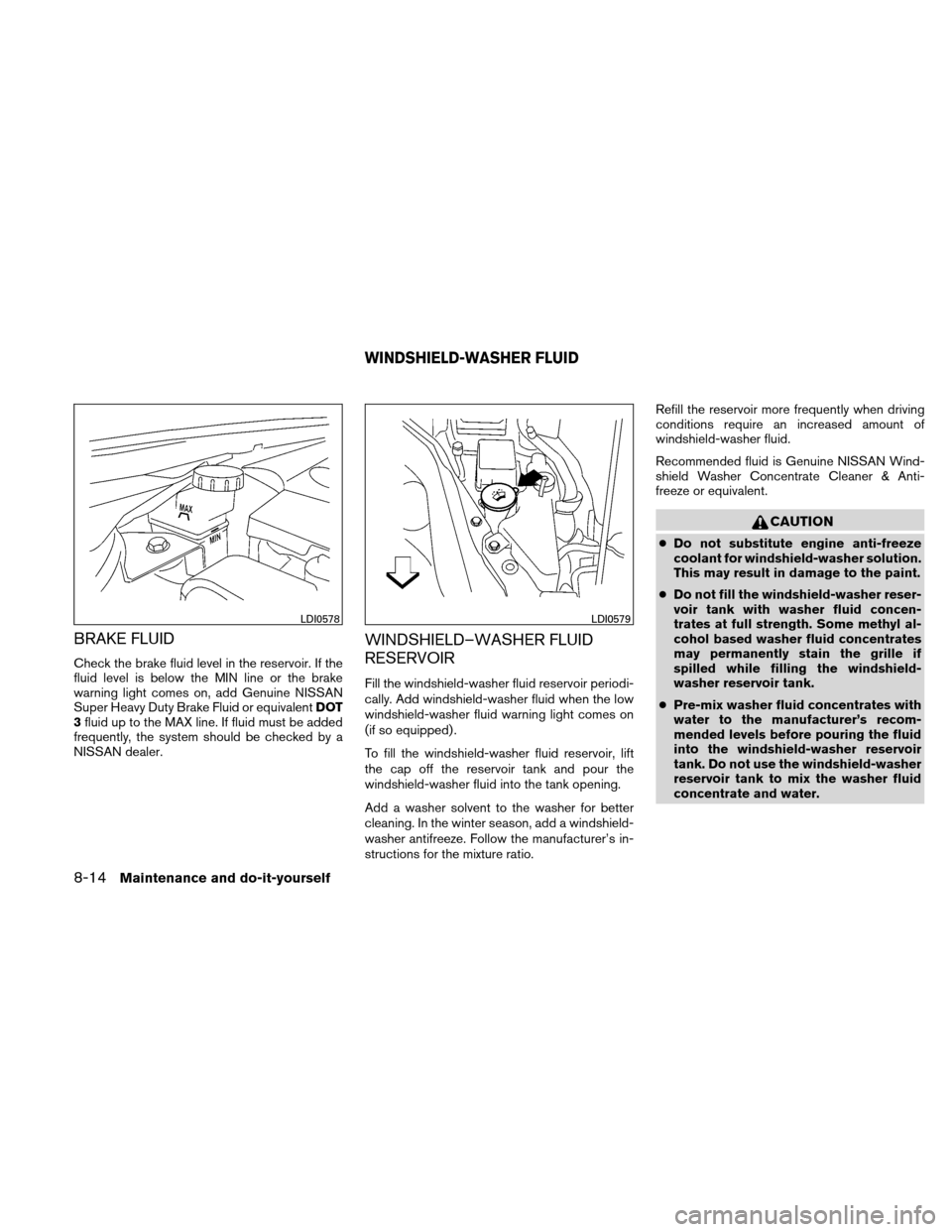 NISSAN ALTIMA HYBRID 2010 L32A / 4.G Owners Manual, Page 357