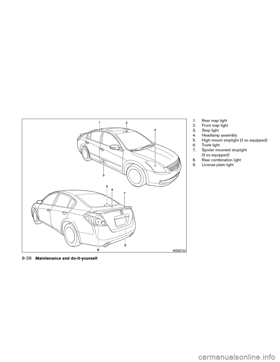 NISSAN ALTIMA HYBRID 2010 L32A / 4.G Owners Manual, Page 369
