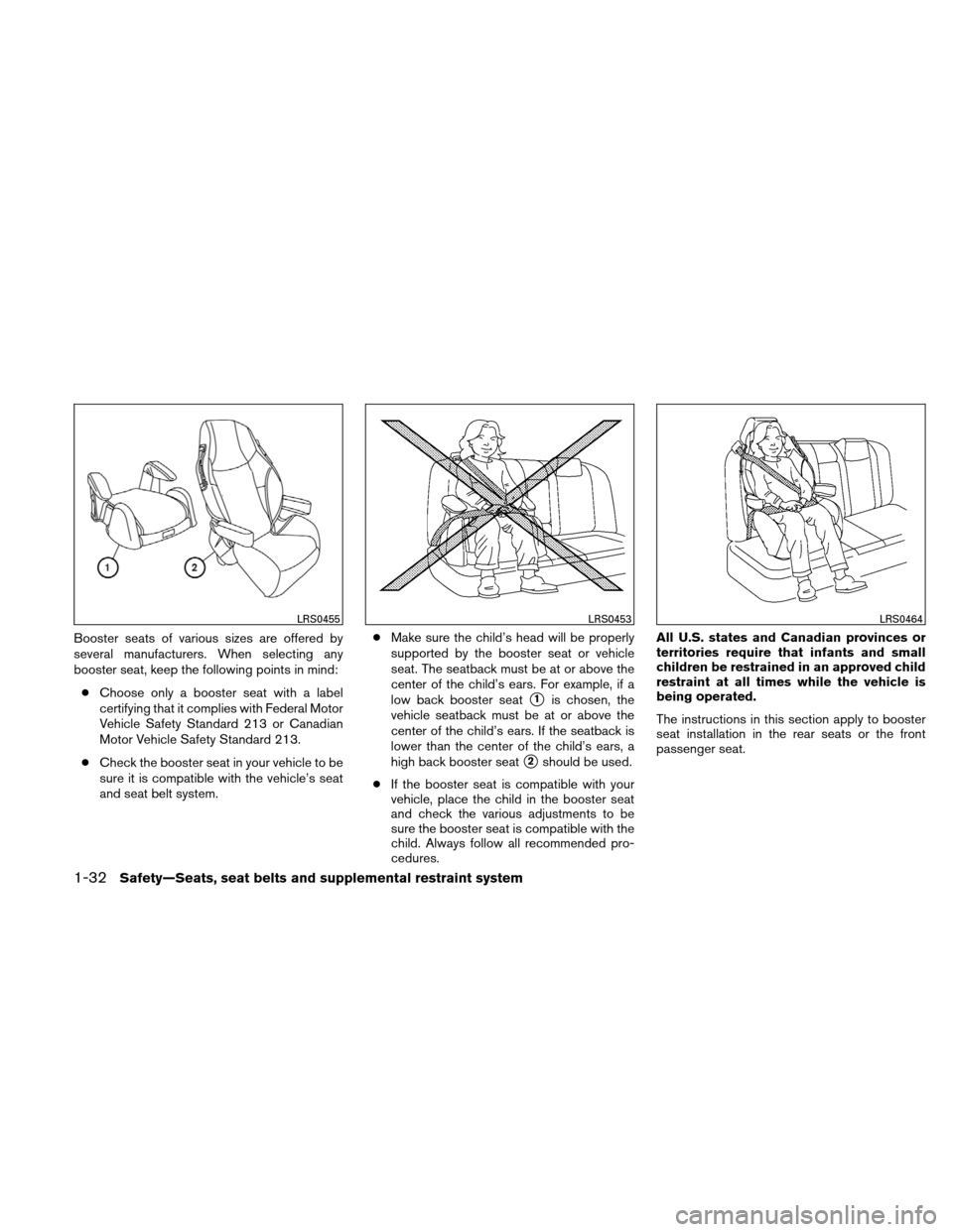 NISSAN ALTIMA HYBRID 2010 L32A / 4.G Owners Manual, Page 61