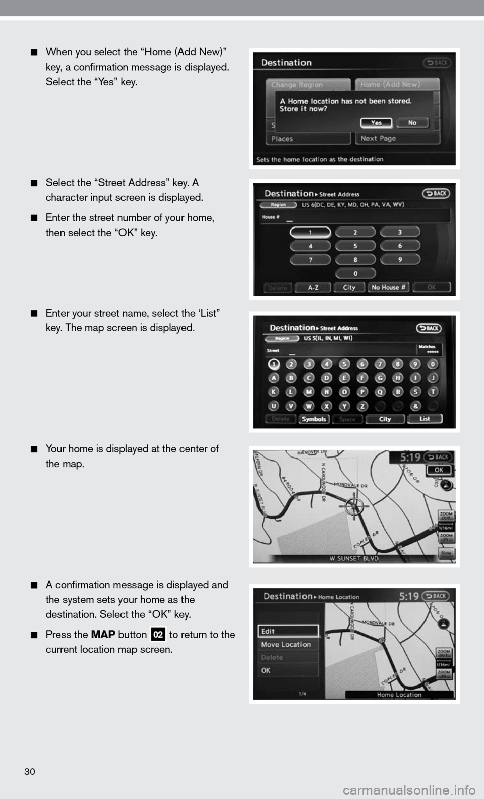 NISSAN ALTIMA HYBRID 2010 L32A / 4.G Quick Reference Guide, Page 32