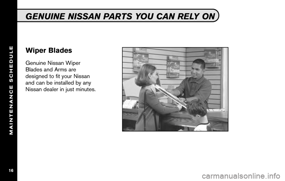 NISSAN SENTRA 2010 B17 / 7.G Service And Maintenance Guide, Page 18