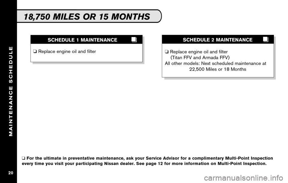 NISSAN SENTRA 2010 B17 / 7.G Service And Maintenance Guide, Page 22