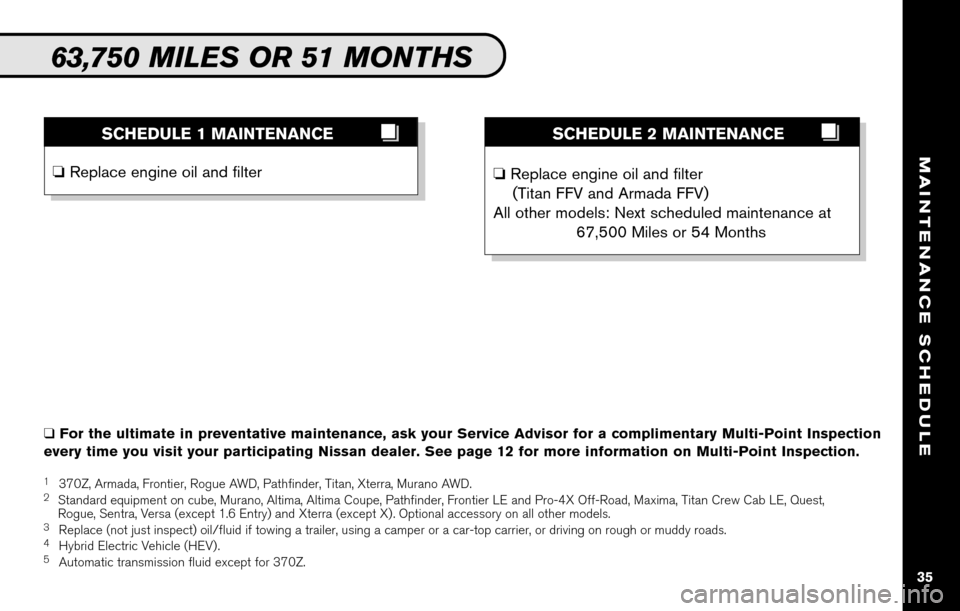 NISSAN CUBE 2010 3.G Service And Maintenance Guide, Page 37